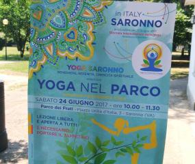 Giornata Internazionale Yoga Parco Saronno